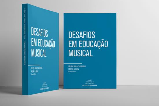 Apresentação online do livro 'Desafios em Educação Musical'