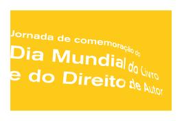 Dia Mundial do Livro e do Direito do Autor