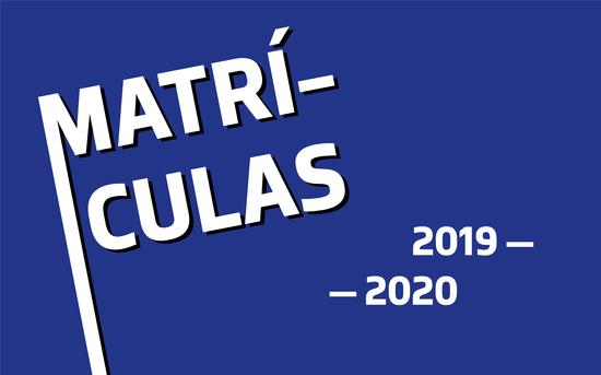 Matrículas 2019 — 2020