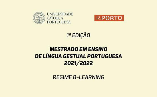 Mestrado em Ensino de Língua Gestual Portuguesa