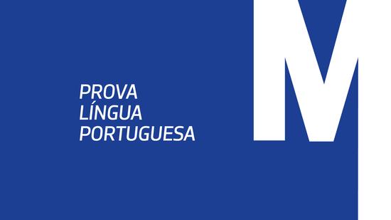 Prova de Língua Portuguesa – Mestrados Profissionalizantes