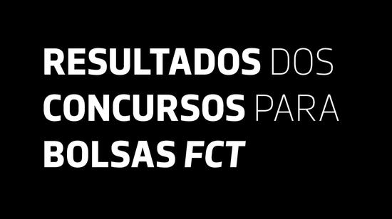 Resultados dos concursos FCT/MCTES