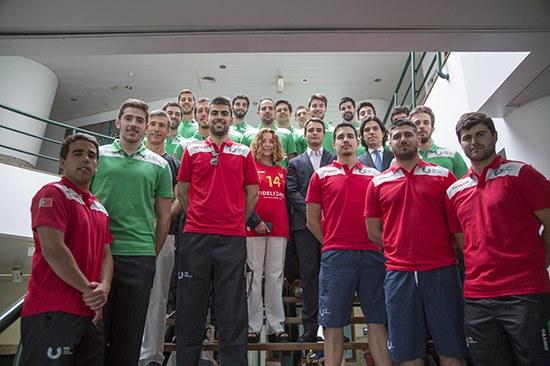 Handball academic team at CMU 2016 | MarianaSantos©